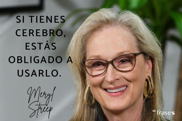 Frases de Meryl Streep