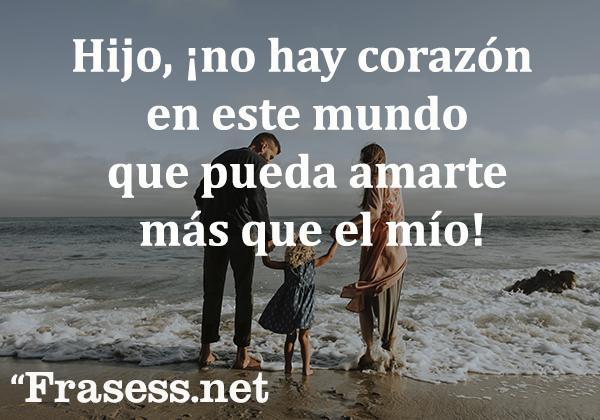 Frases De Amor Para Un Hijo O Una Hija Bonitas Y Con Imágenes