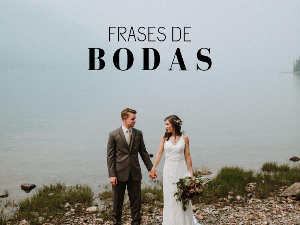 60 Frases De Boda Y Amor Dedicatorias Para Novios