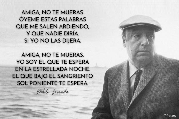 Poemas de Pablo Neruda
