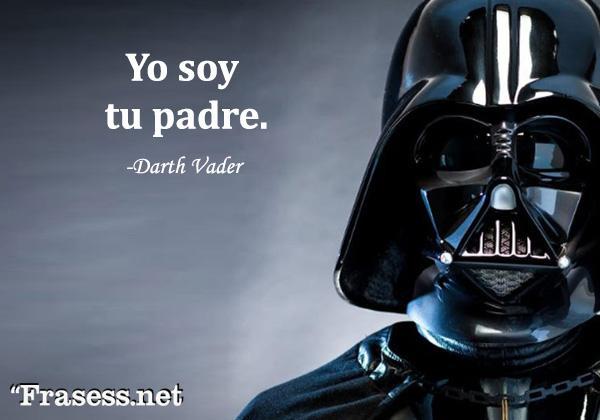 Frases de Star Wars -  Yo soy tu padre.