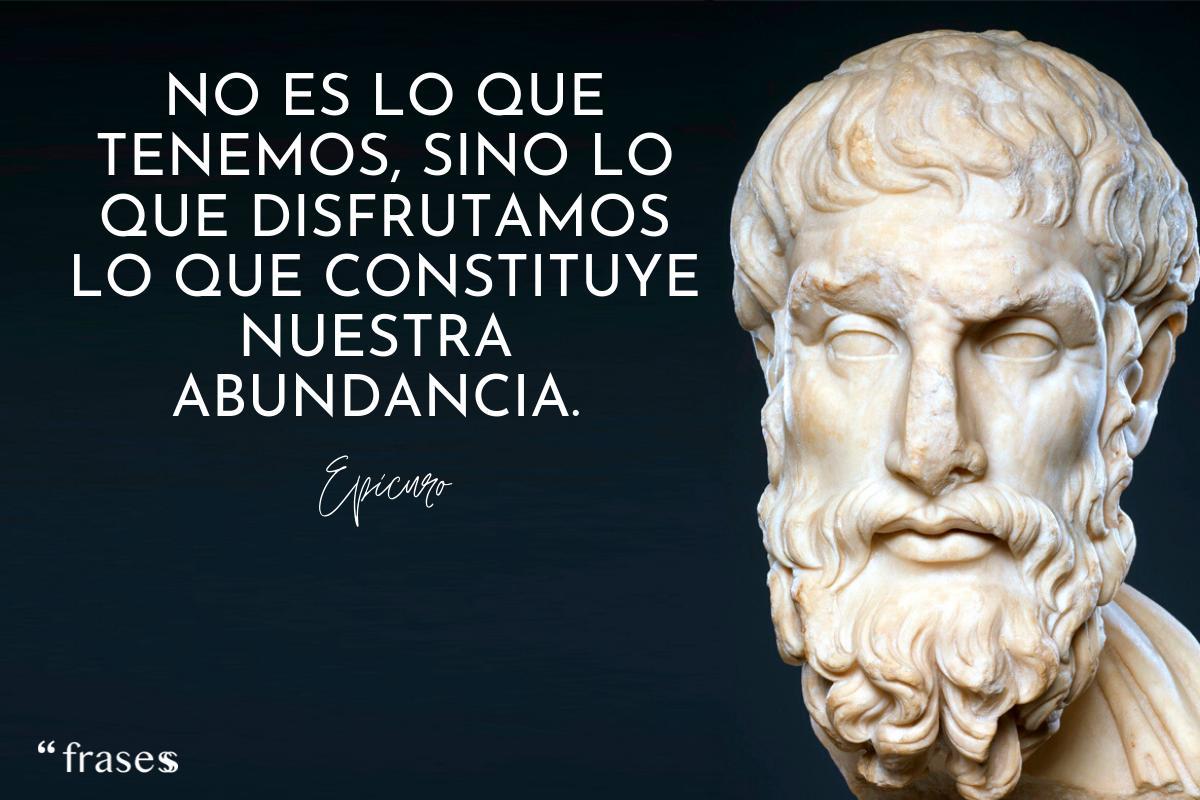 60 Frases De Epicuro Sobre La Vida La Filosofía Y La Felicidad