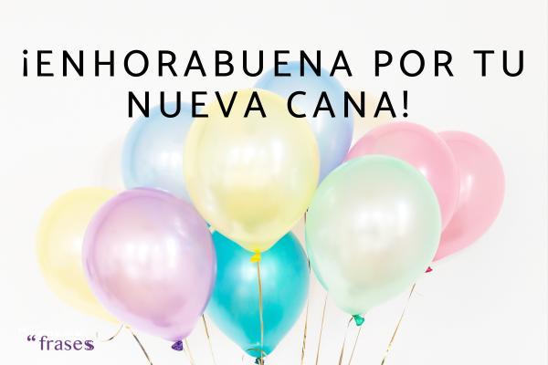 Frases de cumpleaños para una hija - ¡Enhorabuena por tu nueva cana!