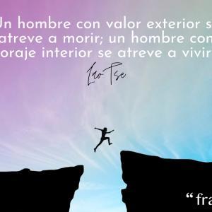 Frases de valentía