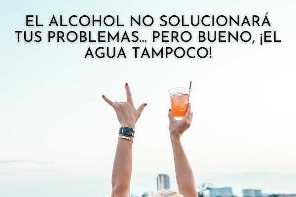 Frases de alcohol