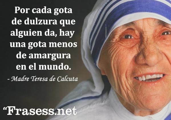 60 Frases De La Madre Teresa De Calcuta Para Reflexionar