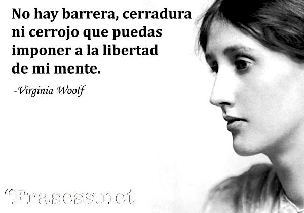60 Frases De Virginia Woolf Frases Feministas Para