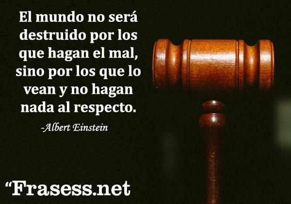 120 Frases de JUSTICIA - ¡Para REFLEXIONAR!