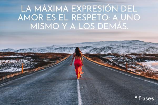 Frases de respeto