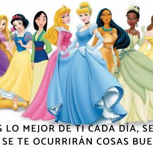 Frases de princesas Disney
