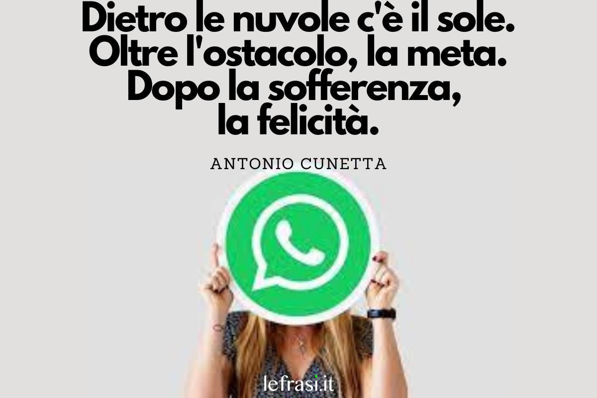 spesso Di 140 Frasi per Stati WhatsApp: Profondi e divertenti XM79