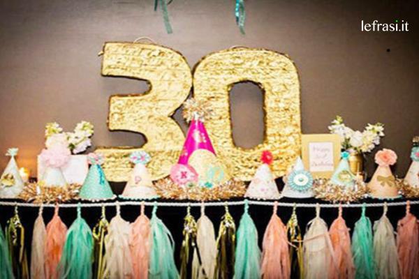 Conosciuto Più di 100 Frasi di AUGURI di compleanno per i 30 anni: Originali SK41
